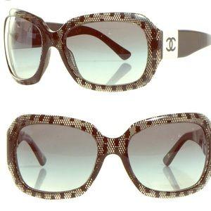 Chanel Acetate Lace Sunglasses